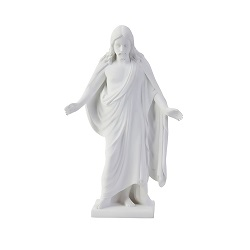 "6"" Marble Christus Statue christus statues, christus statue, christus, lds christus, mormon christus, deseret book christus, one moment in time christus"