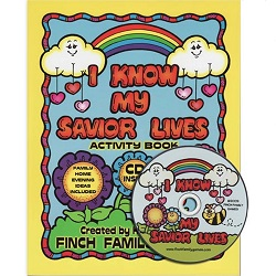 I Know My Savior Lives Activity Book & CD i know my savior lives activity book & cd,i know my savior lives,finch family games,karen finch books,family home evening games,games for family home evening,fhe games,games for fhe,games for church,lds games,finch family games,games for kids,primary games,primary books,games for primary,games for primary kids,lds primary,lds primary kids