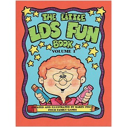 The Little LDS Fun Book Volume 1 the little lds fun book,the little lds fun book volume 1,karen finch books,family home evening games,games for family home evening,fhe games,games for fhe,games for church,lds games,finch family games,games for kids,primary games,primary books,games for primary,games for primary kids,lds primary,lds primary kids