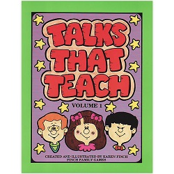 Talks That Teach Volume 1 talks that teach,talks that teach volume 1,karen finch books,family home evening games,games for family home evening,fhe games,games for fhe,games for church,lds games,finch family games,games for kids,primary games,primary books,games for primary,games for primary kids,lds primary,lds primary kids
