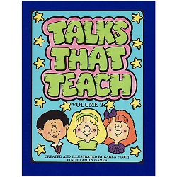 Talks That Teach Volume 2 talks that teach,talks that teach volume 2,karen finch books,family home evening games,games for family home evening,fhe games,games for fhe,games for church,lds games,finch family games,games for kids,primary games,primary books,games for primary,games for primary kids,lds primary,lds primary kids