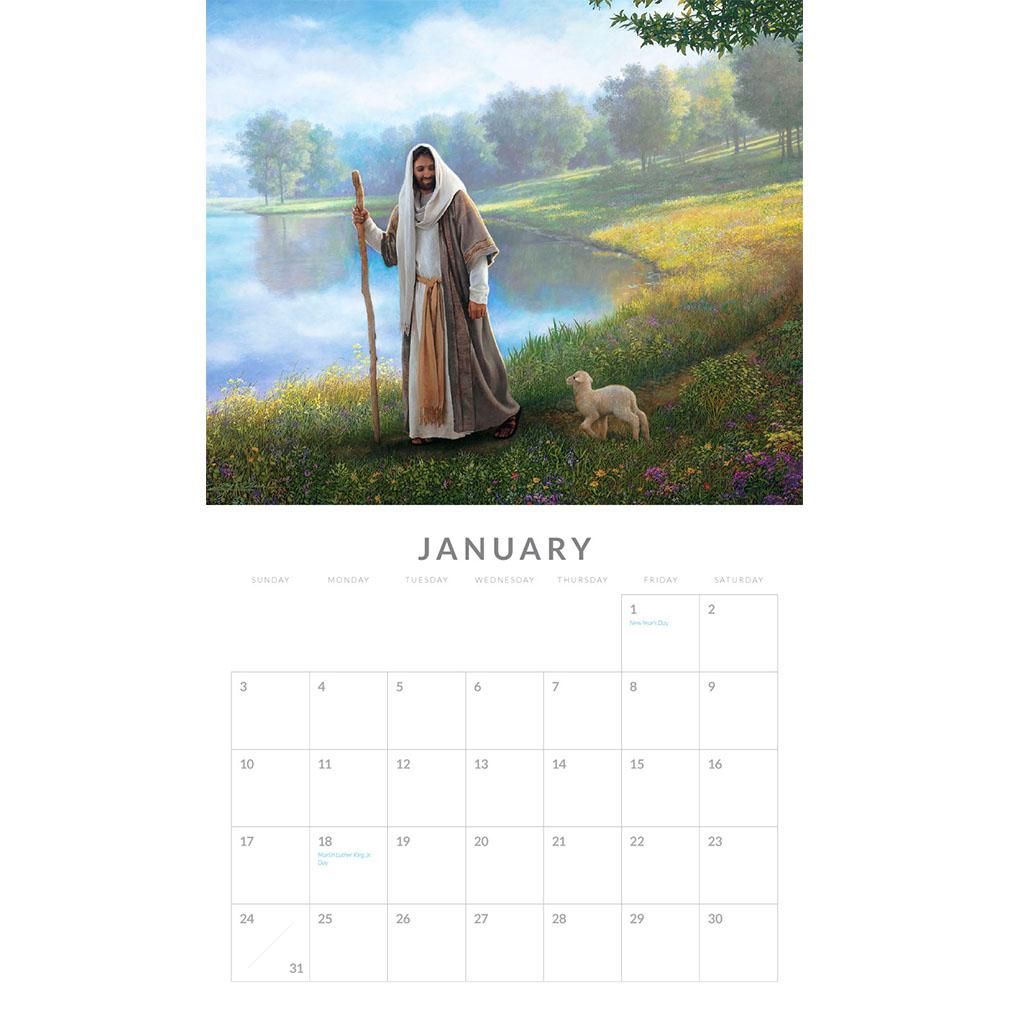 2021 Greg Olsen Calendar  - GO-GOCAL2021