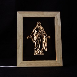 Christus LED Frame Night Light Salt Lake City Utah Temple, Salt Lake City Utah Temple decor, Salt Lake City Utah Temple art, lds temple art, lds temple decor, lds christmas gifts, lds gifts