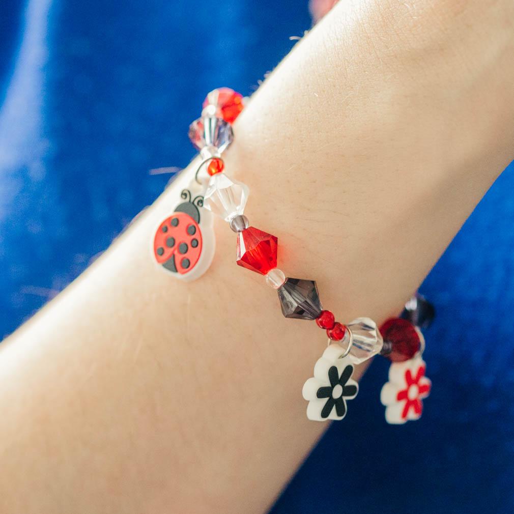 Ladybug CTR Necklace & Bracelet Set - RM-JNC026