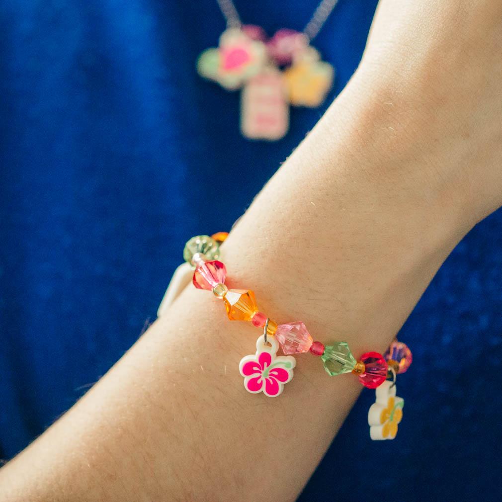 Tropical CTR Necklace & Bracelet Set - RM-JNC027