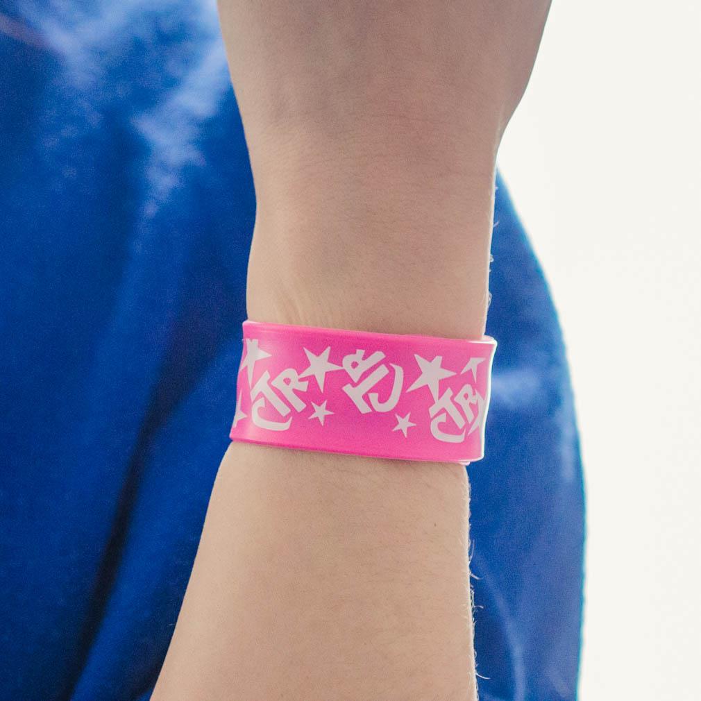 Pink CTR Slap Bracelet - RM-JRY230