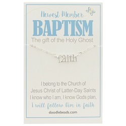 Faith Baptism Necklace
