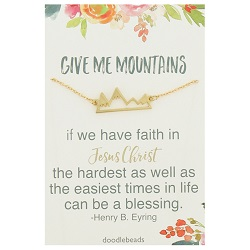 Give Me Mountains Necklace