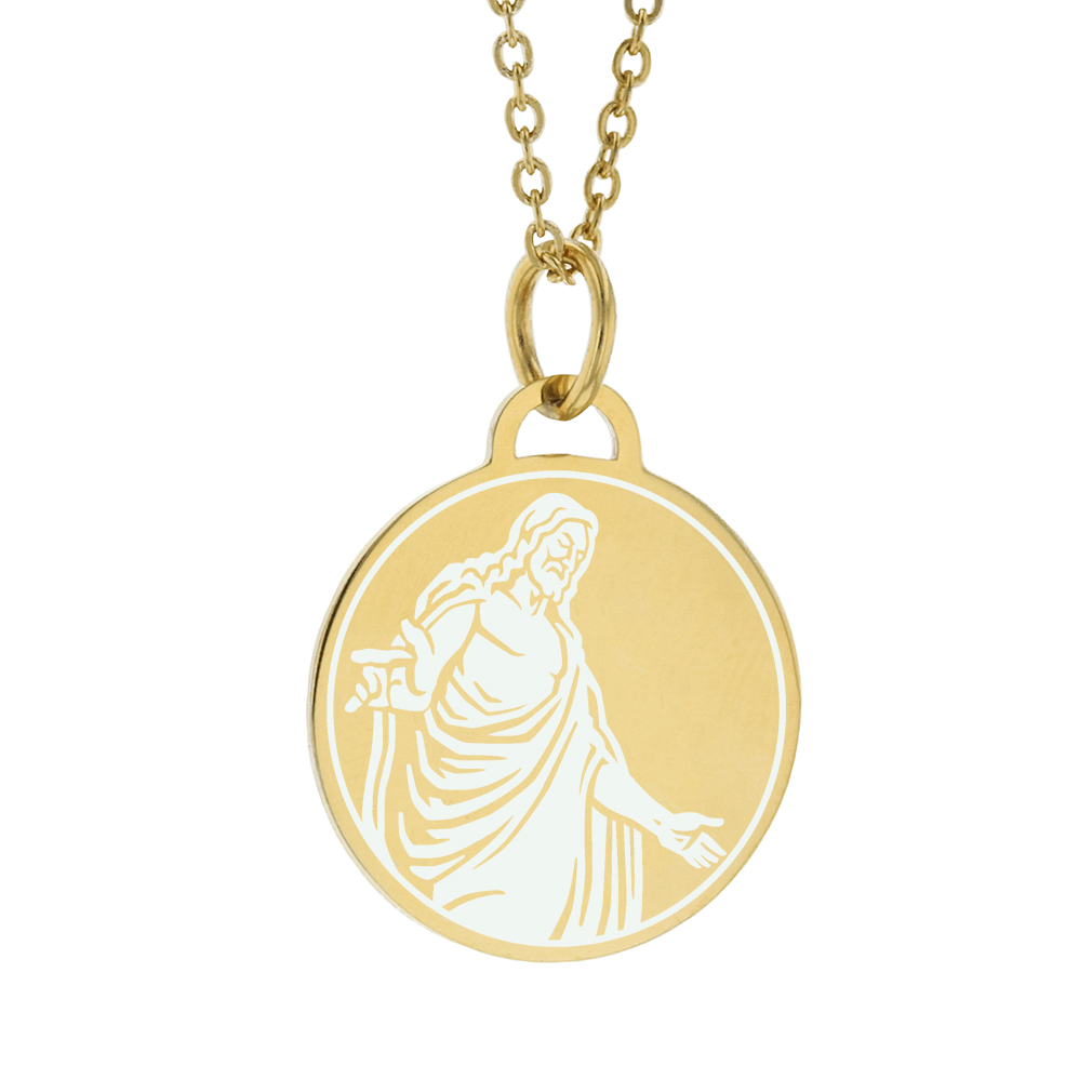 Christus Necklace - Side - LDP-CPN-CHRIST2