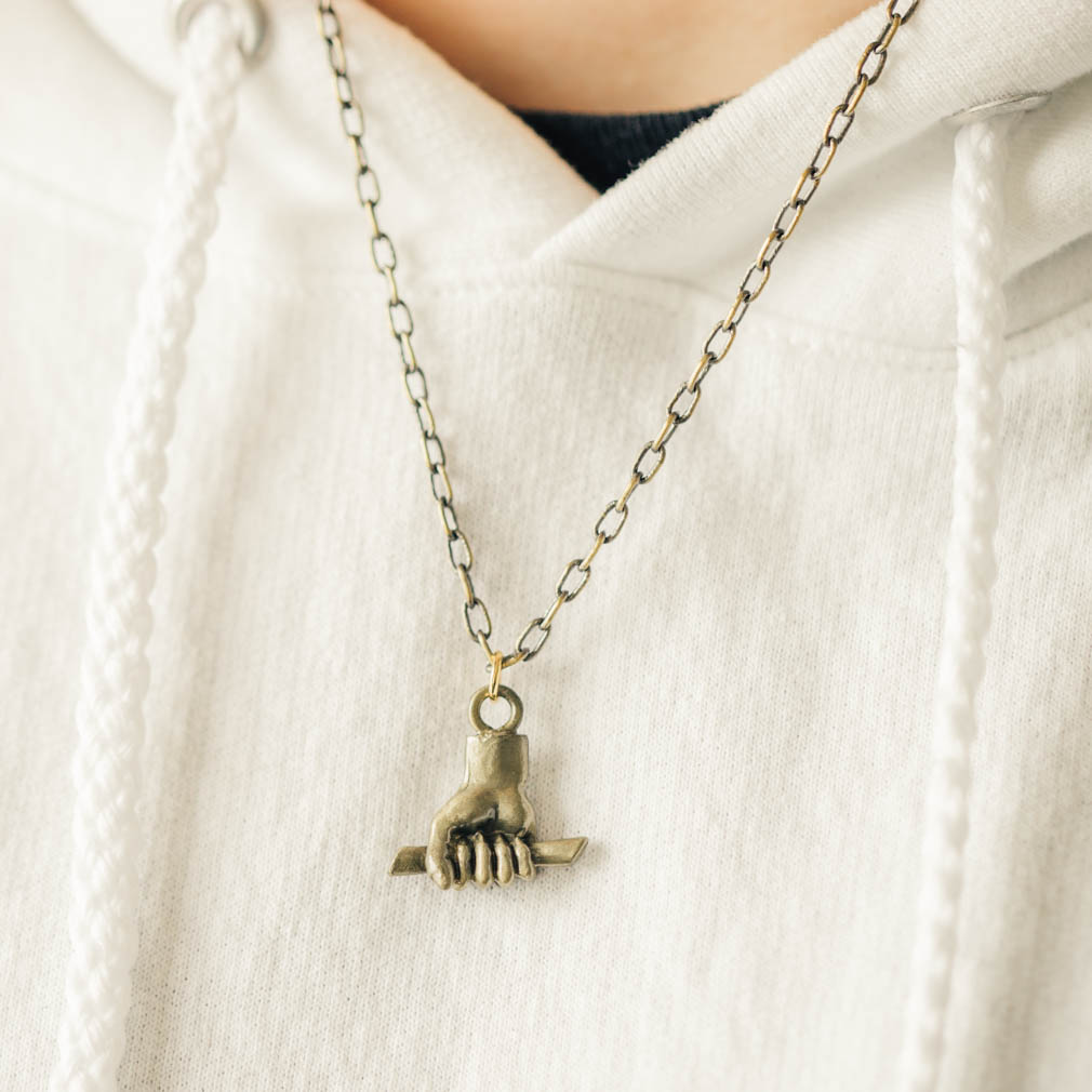 Hold to the Rod Necklace - Gold - OMT-J2