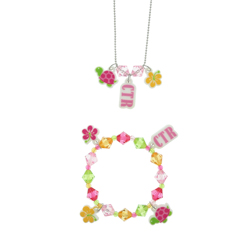 Tropical CTR Necklace & Bracelet Set