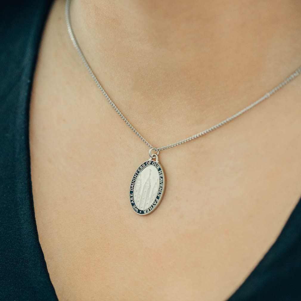 We Are Daughters of Our Heavenly Father Necklace - RM-JNY003