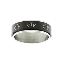 Black Spinner CTR Ring