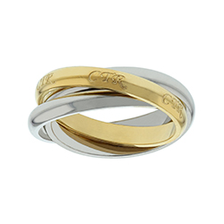 Two-Tone Roll CTR Ring