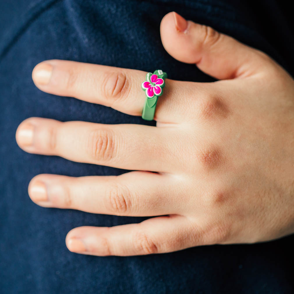 Adjustable Flower CTR Ring - RM-JRY259