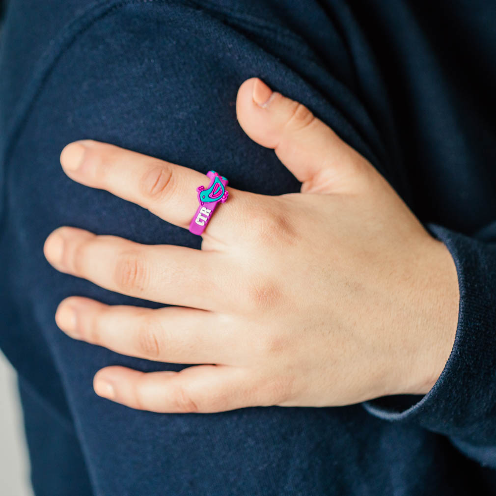Adjustable Peacock CTR Ring - RM-JRY312