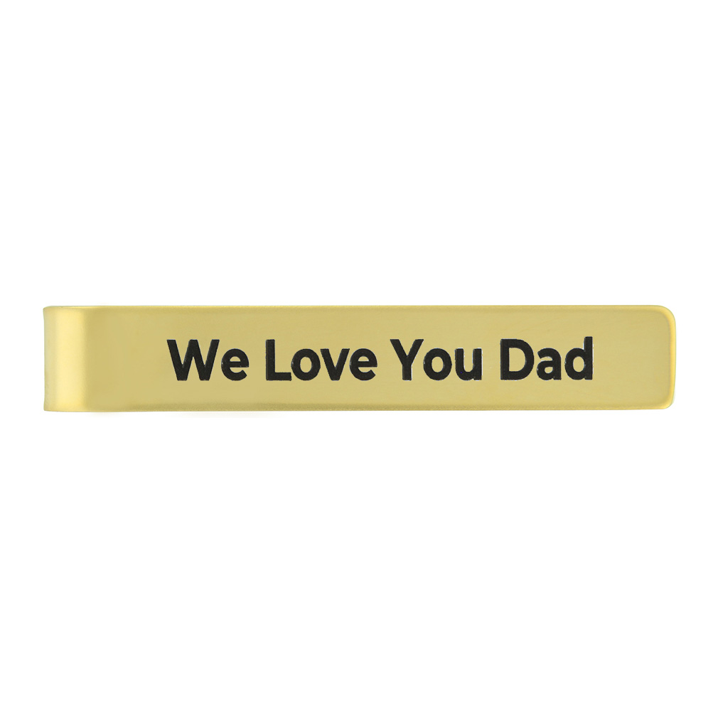 Personalized Father's Day Tie Bar - LDP-TBR-DAD