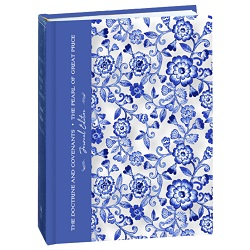 The Doctrine and Covenants and Pearl of Great Price Journal Edition - Blue Floral the doctrine and covenants and pearl of great price journal edition blue floral, the doctrine and covenants,pearl of great price,the doctrine and covenants journal,pearl of great price journal,scripture journal,scripture journal,journal scripture,journal scriptures,lds journal,latter day saint journal