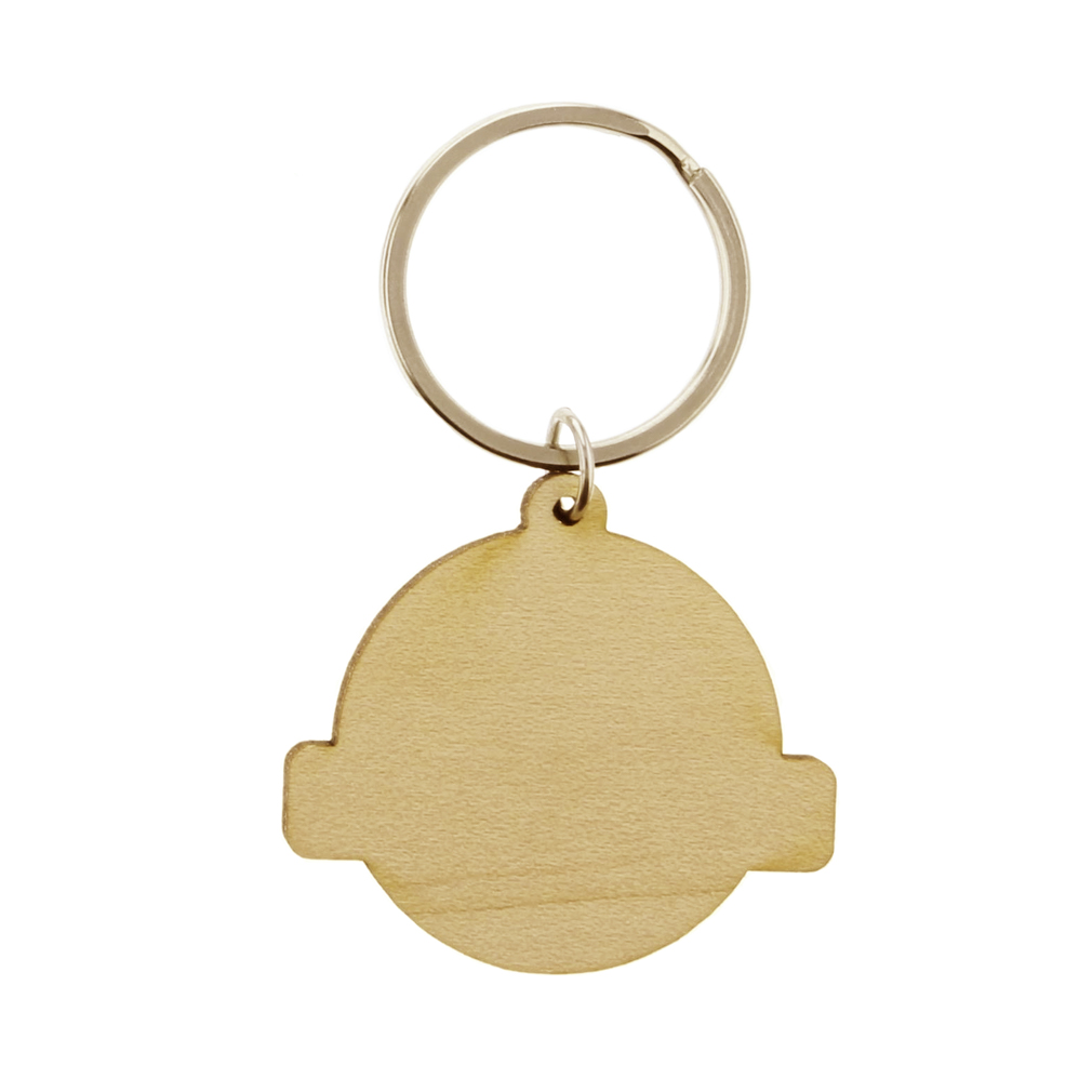 Bring the World His Truth Wood Keychain - LDP-KC-BWHT-WOOD