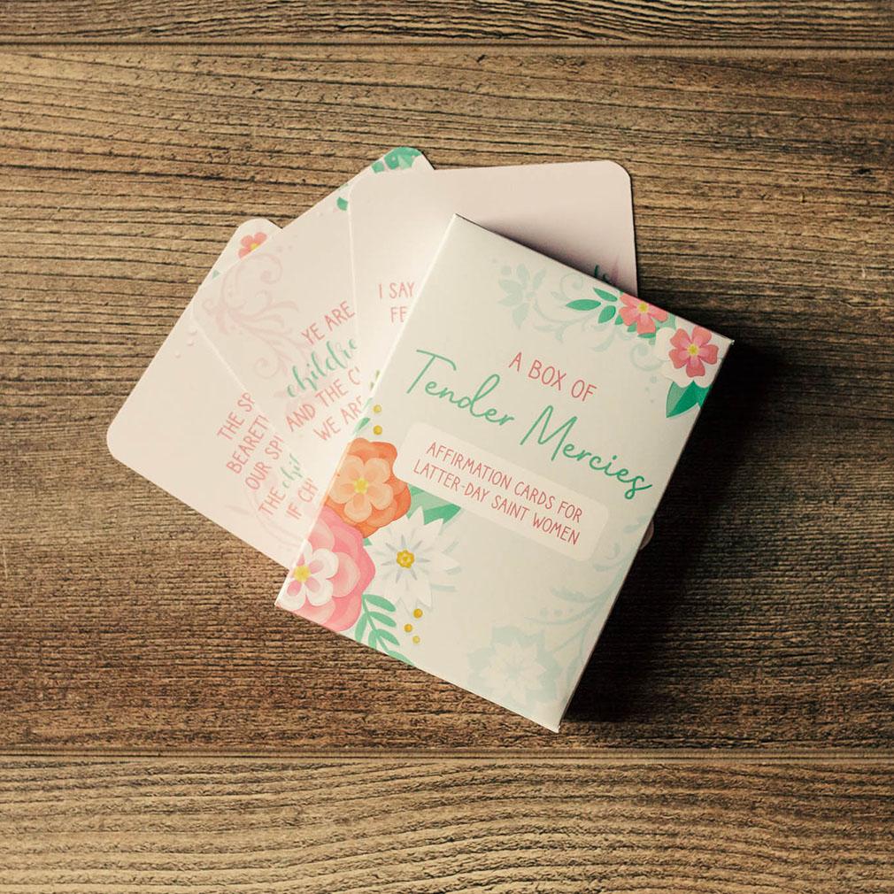 Tender Mercies: 100 Affirmations for Latter-day Saint Women - LDP-AFFIRM-CARDS