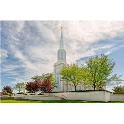 St. Louis Temple - Summer Trees