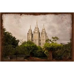Salt Lake Temple - Everlasting Art Nouveau