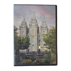 Stand Ye in Holy Places DVD lds temple slideshow, stand ye in holy places dvd
