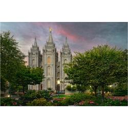 Salt Lake Temple - New Springtime