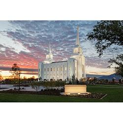 Brigham City - Sunset
