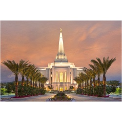 Gilbert Temple - Palm Trees - LDP-RB14202