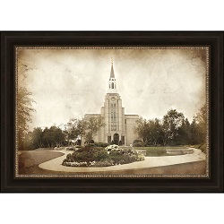 Boston Temple - Vintage