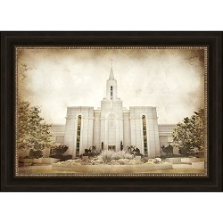 Bountiful Temple - Vintage