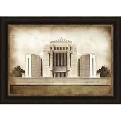 Cardston Temple - Vintage