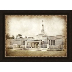 Columbia River Temple - Vintage