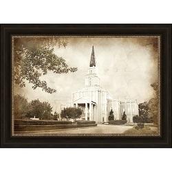 Houston Temple - Vintage