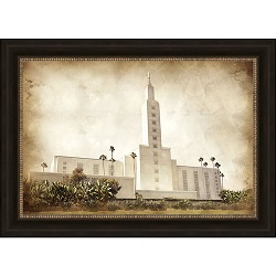 Los Angeles Temple - Vintage