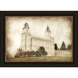 Manti Temple - Vintage