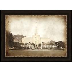 Mount Timpanogos Temple - Vintage