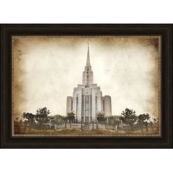 Oquirrh Mountain Temple - Vintage