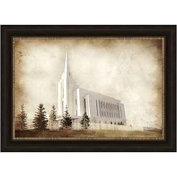 Rexburg Temple - Vintage - LDP-VTA-REX