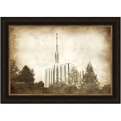 Seattle Temple - Vintage