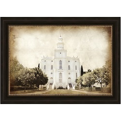 St. George Temple - Vintage