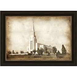 Twin Falls Temple - Vintage