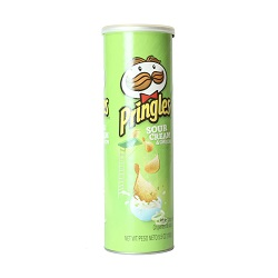 Sour Cream & Onion Pringles - 5.5 oz.