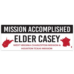 Mission Accomplished Welcome Home Banner - Elder welcome home banner,lds missionary,mission banner,missionary welcome home,missionary welcome home banner,missionary return,lds missionary,lds missionary homecoming,missionary welcome home,lds mission