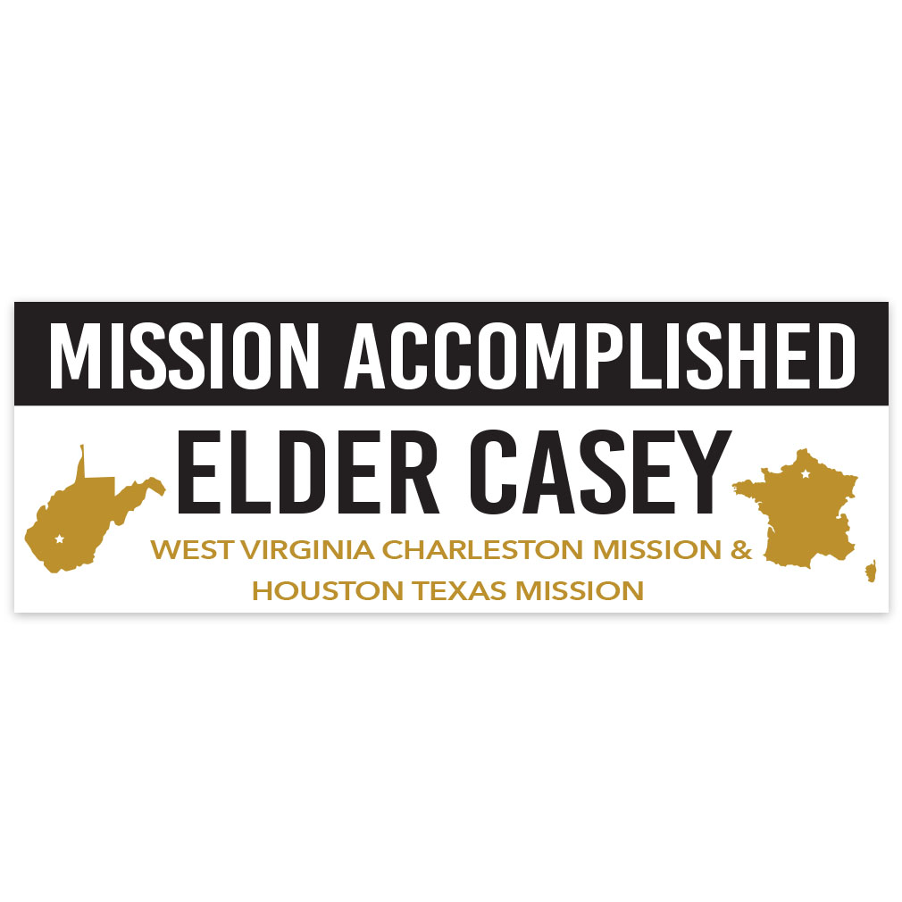 Mission Accomplished Welcome Home Banner - Elder - LDP-MSPST-MISSACC-ELD