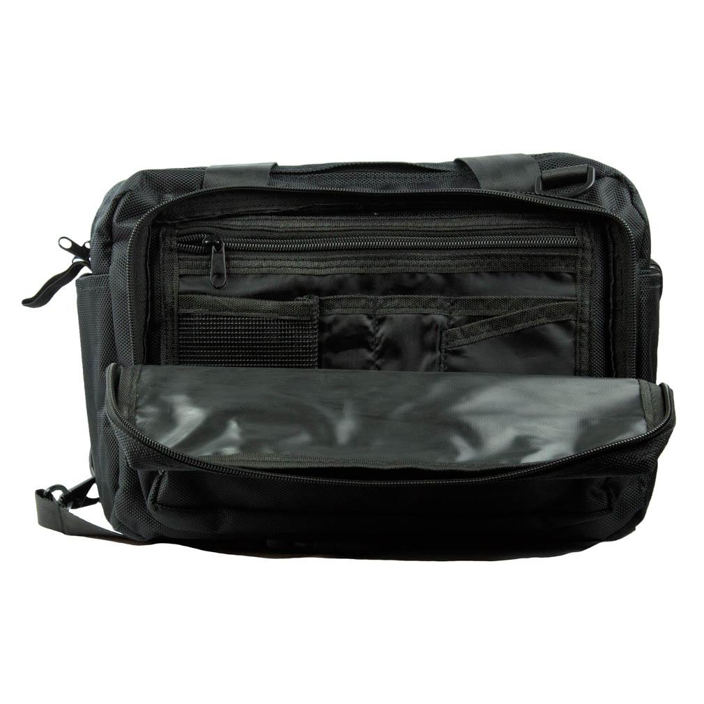 Classic Missionary Shoulder Bag - PCM-MCM80BK