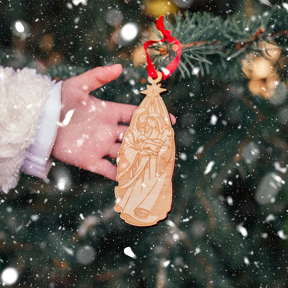 Holy Family Nativity Ornament - LDP-ORN-NATIVITY-2