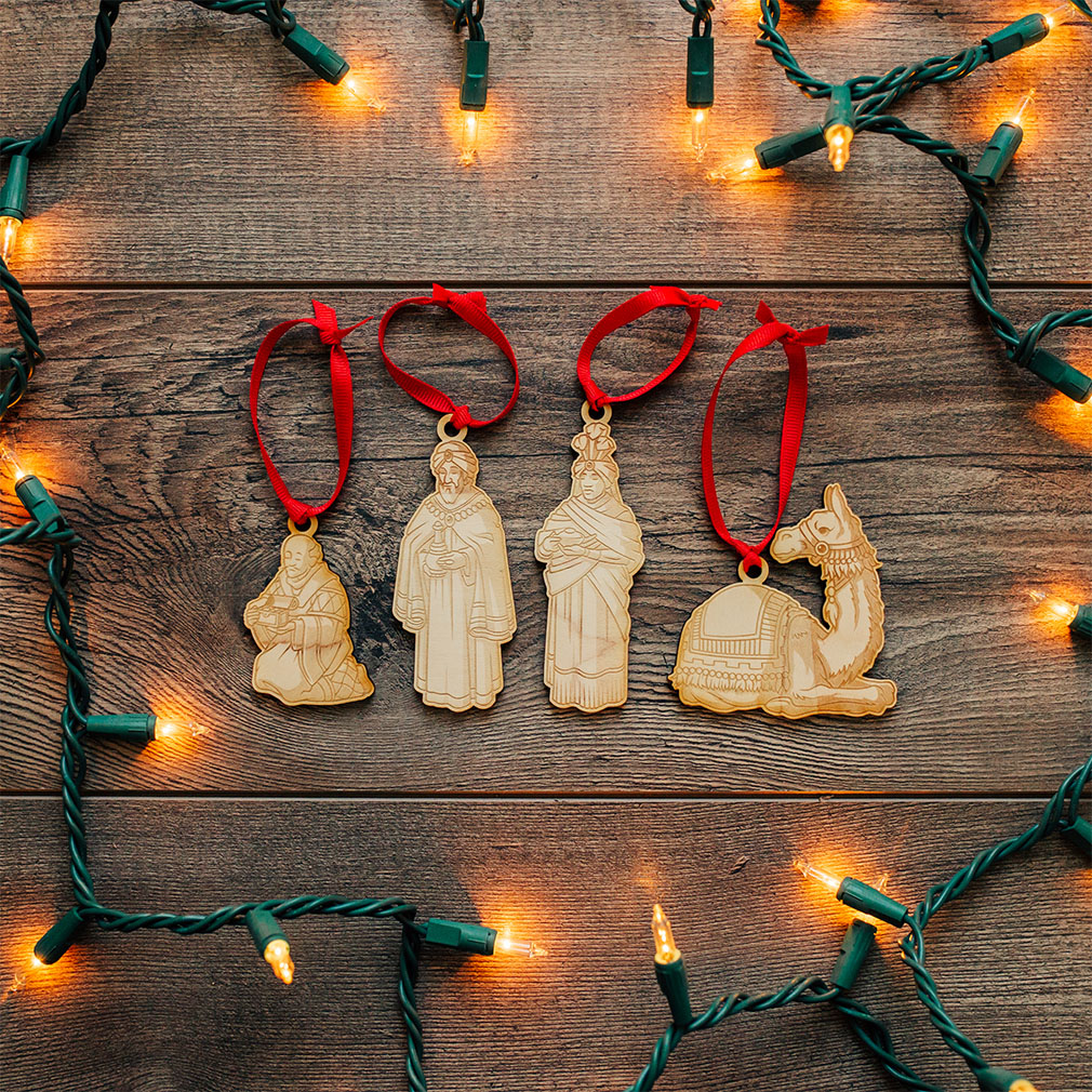 Nativity Ornament Set  - LDP-ORN-NATIVITY-SET