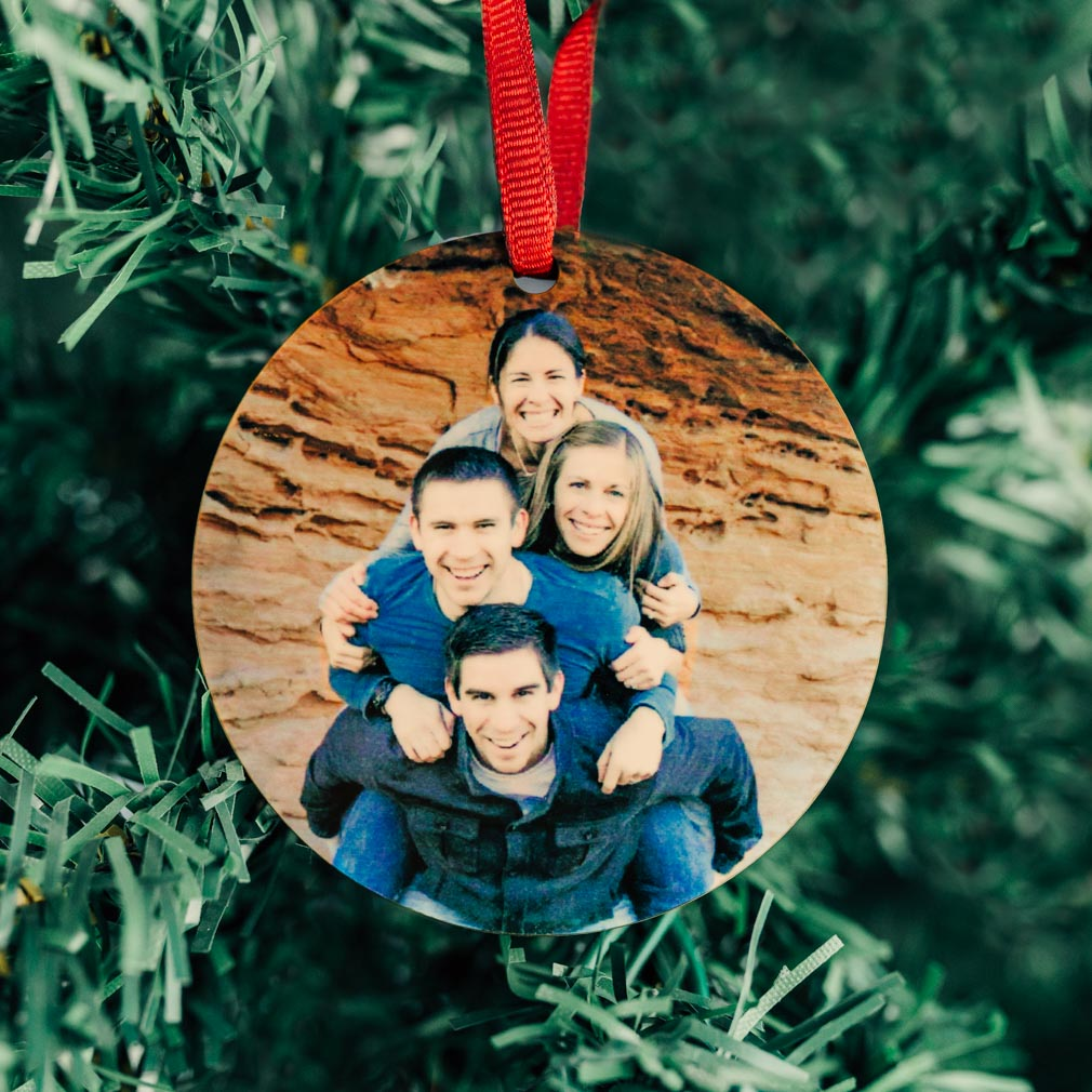 Personalized Photo Christmas Ornament - LDP-ORN-SUB-PHOTO